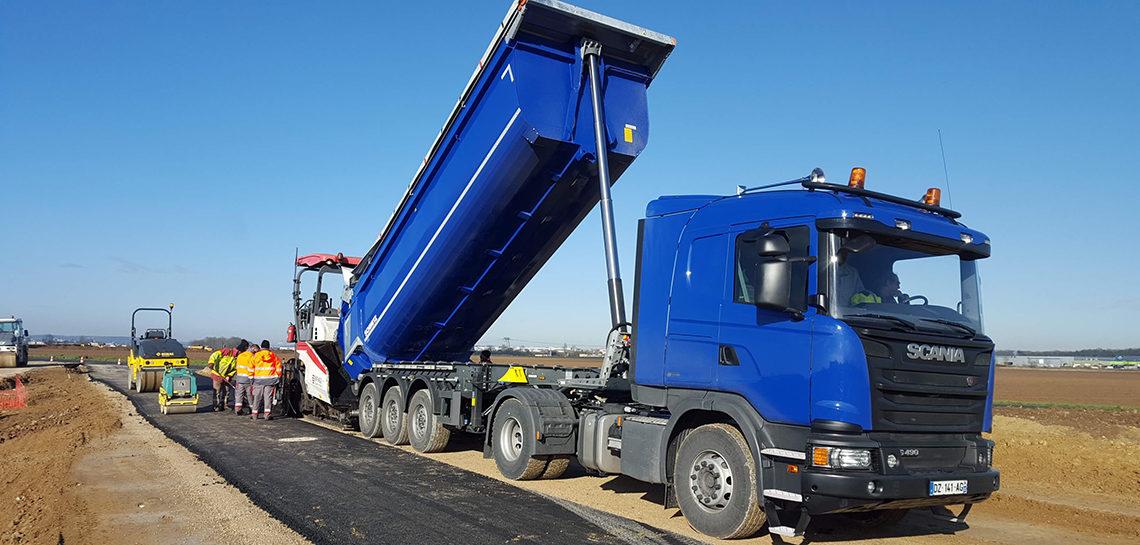 Transport travaux Publics 91 – Camion Benne 8x4