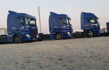 Equipement en tracteurs routiers GNC