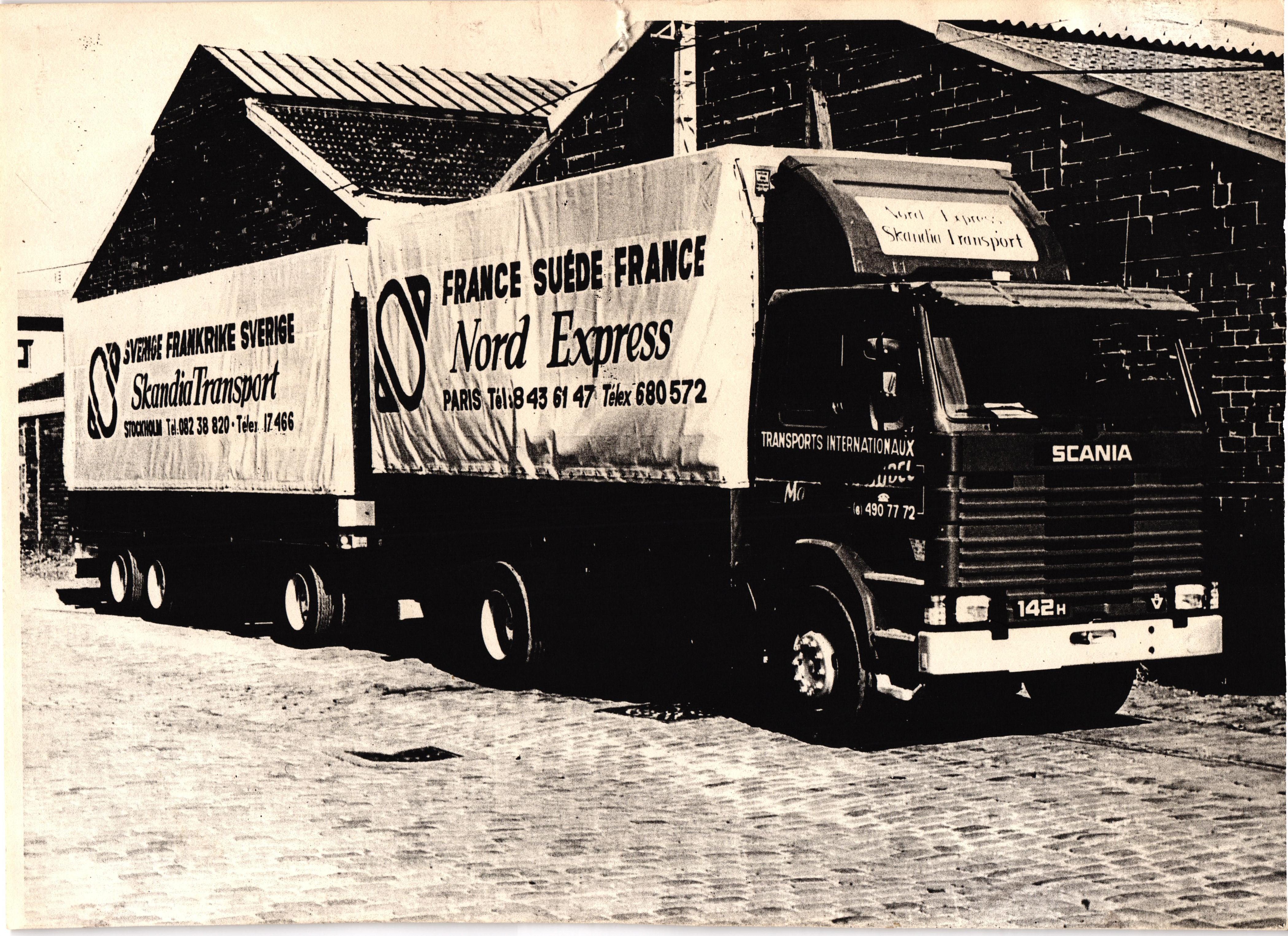 Transport routier Europe – Suède