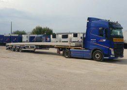 Transport camion plateau - Transport semi remorque plateau