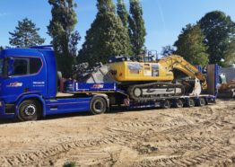 Transport engin de chantier – Porte-engin Travaux publics et agricole